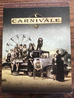 Carnivale Season 1 Box DVD Box Set for Sale in Fairmont,  WV