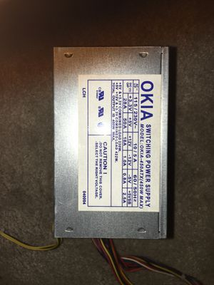 OKIA 450 watt power supply for Sale in Petal, MS