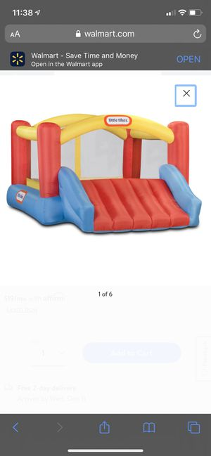 Little Tikes inflatable bounce house for Sale in Hialeah, FL