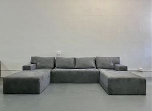 Modern u shape sectional sofa couch for Sale in Miami, FL