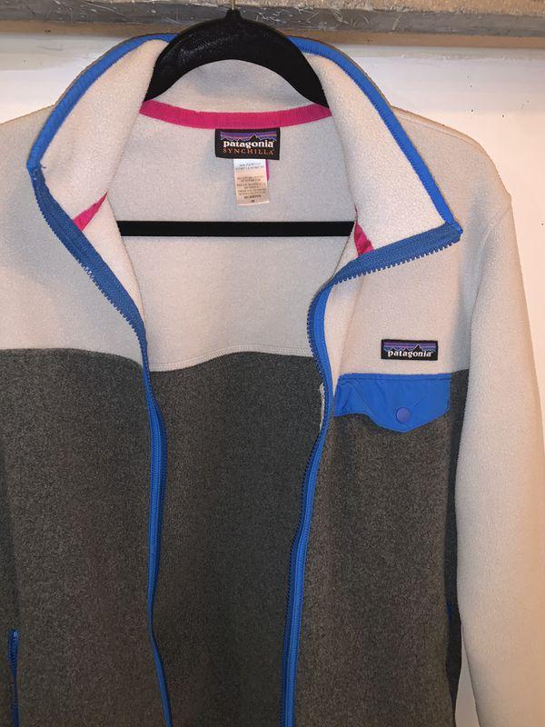 Patagonia Women's Medium Synchilla Fleece zip up jacket