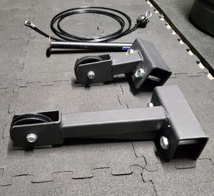 EXERCISE FITNESS EQUIPMENT RACK MOUNT PULLY SYSTEM for Sale in Riverside, CA