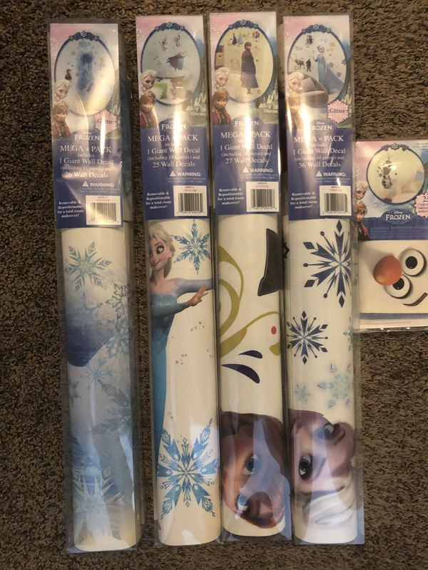 Giant Frozen Wall Decals NEW in Box