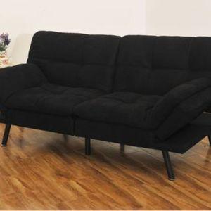 BRAND NEW- Black Memory Foam Futon for Sale in Suwanee, GA