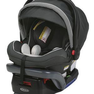 Graco SnugRide SnugLock 35 Elite Infant Car Seat, Oakley Gray for Sale in Henderson, NV