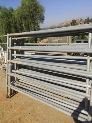 Horse corral panels 6ft long x 5ft high $55 each/cada for Sale in Riverside, CA