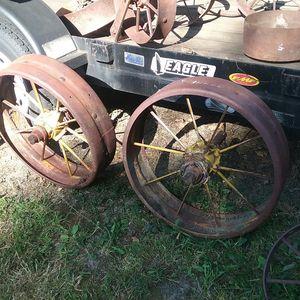 Steel farm / tractor wheels for Sale in Monroe, WA