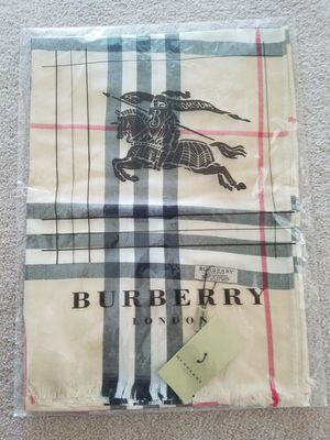 New cashmere Burberry shaw $80 for Sale in Sterling, VA