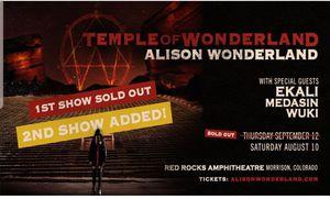 Allison Wonderland August 10 for Sale in Morrison, CO
