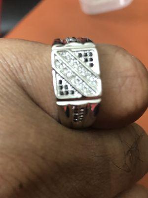 Ring Men's Sterling Silver Plated (925)(Please Read Description) for Sale in Seattle, WA