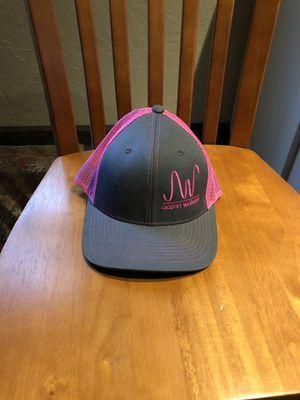 PINK/ GREY AARON WATSON SNAPBACK HAT for Sale in Cypress, TX