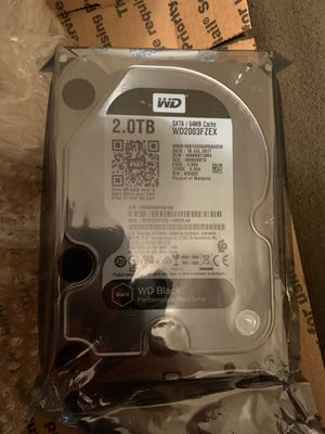 2 TB HARDRIVE FOR COMPUTER for Sale in Niagara Falls, NY