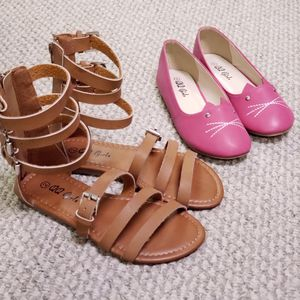 Little Girls Sandals, Shoes, Flats Sizes 2, 3, 6, 7, 8, 9 for Sale in Dallas, TX