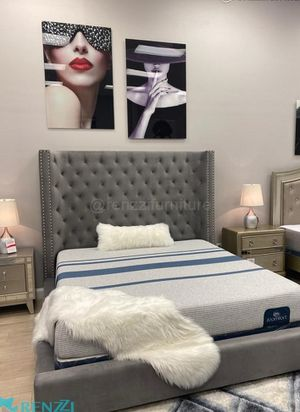 King bed frame Luxury collection - - financing available for Sale in Hialeah, FL