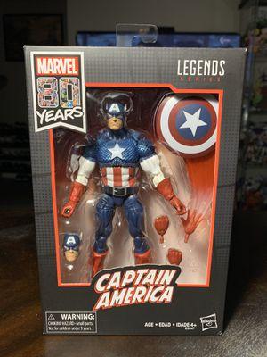 Marvel Legends Captain America 80th An for Sale in Las Vegas, NV