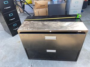 File cabinet new with dent 36 wide 281/2 tall 19 deep for Sale in Downey, CA
