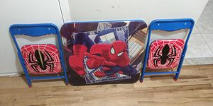 Kids Spider-Man table and chairs for Sale in The Bronx, NY