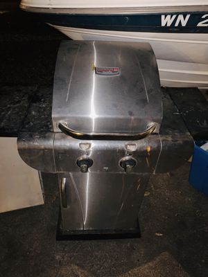 2 burner stainless steel bbq for Sale in Fort Worth, TX