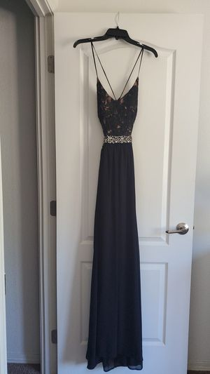 Long Black Prom Dress for Sale in Valley Center, CA