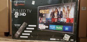 "Insignia 50"" 4k UHD Smart LED Fire Tv for Sale in Garden Grove, CA"