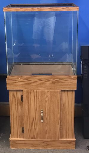 30 gallon Extra High reptile tank and stand combo $100 for Sale in Philadelphia, PA