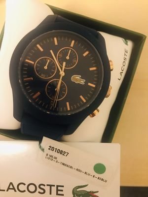 Watch Lacoste for men 100$ for Sale in Burbank, IL