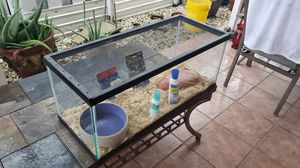 Pecera ...fish tank 20 gallons long for Sale in Hialeah, FL