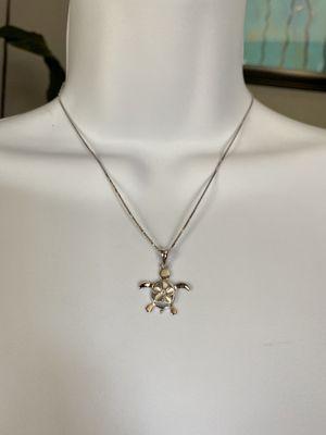 Silver Turtle Necklace for Sale in San Antonio, TX