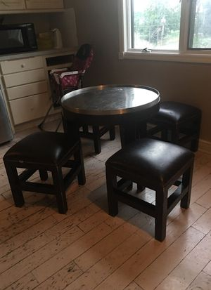 Table and chairs for Sale in Cherry Hill, NJ