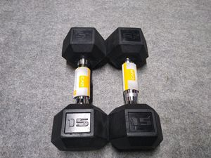 CAP 15 LB Dumbbells (30 lbs total) - BRAND NEW IN HAND for Sale in Pottsville, PA