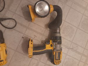 2 Dewalt tools...without batts are chargers just the tools for Sale in Austin, TX