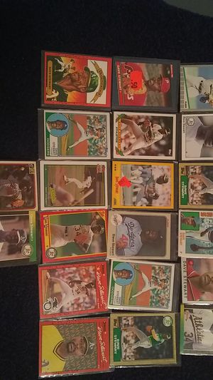 DAVE STEWART BASEBALL CARDS for Sale in Cleveland, OH