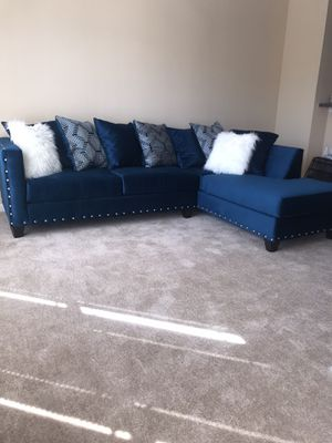 Brand new sectional blue for Sale in Atlanta, GA