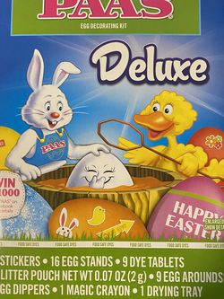 PAAS Deluxe Egg Decorating Kit for Sale in DeSoto,  TX