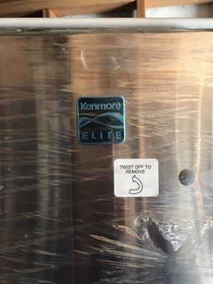 Kenmore Elite Bottom-freezer refrigerator; stainless steel for Sale in Pittsburg, CA