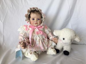 "Vinyl Collectible ""Mary and Lamb"" Doll for Sale in Miami, FL"