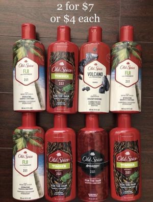 Old Spice Hair Care Shampoo, Conditioner: 2 for $7 or $4 each for Sale in Montebello, CA