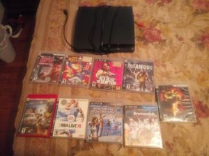 Playstation 3 and 9 games for Sale in Jennings, MO