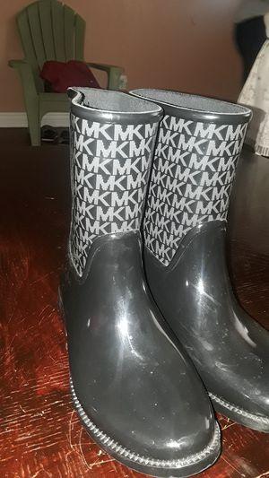 Micheal Kors rain boots for Sale in Aurora, CO