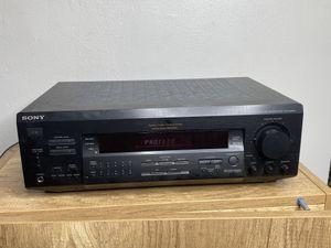 Sony STR De425 5.1 Channel 500 Watt Fm Stereo Receiver (Please READ Description) for Sale in Orlando, FL