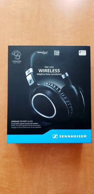 Sennheiser PXC 550 Wireless – NoiseGard Adaptive Noise Cancelling, Bluetooth Headphone with Touch Sensitive Control and 30-Hour Battery Life for Sale in Las Vegas, NV