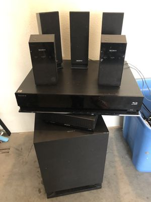 Sony Home Stereo System with Wireless Speakers for Sale in Rancho Cucamonga, CA