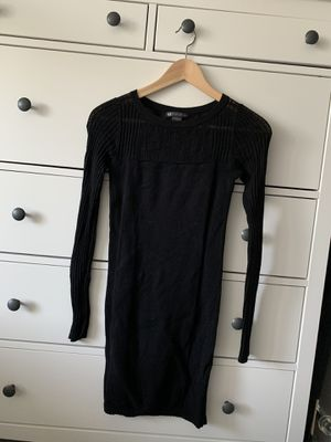 Black sweater dress size small for Sale in Kent, WA