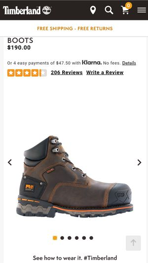 Timberland Pro Boondock Boots for Sale in Modesto, CA