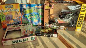 Kids mini Board creative games & Baja Race Car for Sale in Dallas, TX