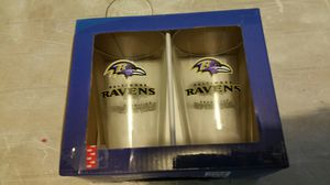 Baltimore Ravens Duck House Highball Glass Set , Brand New In Box for Sale in Compton, CA