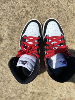 Nike Air Jordan 1 Black Toe for Sale in Covington, GA