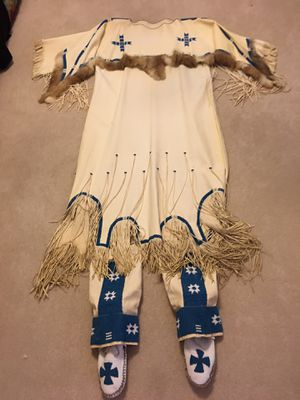 Buckskin dress with matching leggings for Sale in Brentwood, PA