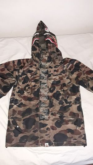 Authentic Bape CAMO Windbreaker Jacket for Sale in Glenolden, PA