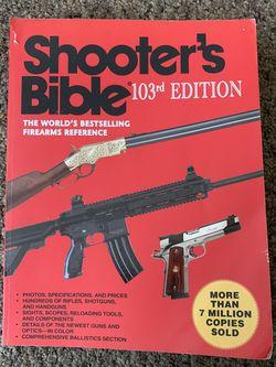 Shooters Bible (Gun Book) for Sale in Camden,  NJ